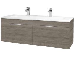 Dreja - Kúpeľňová skriňa ASTON SZZ2 120 - D03 Cafe / Úchytka T05 / D03 Cafe (131531FU)