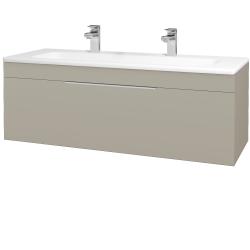 Dreja - Kúpeľňová skriňa ASTON SZZ 120 - M05 Béžová mat / Úchytka T05 / M05 Béžová mat (200091FU)