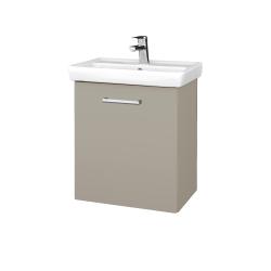 Dreja - Kúpeľňová skriňa DOOR SZD 55 - M05 Béžová mat / Úchytka T03 / M05 Béžová mat / Pravé (205133CP)