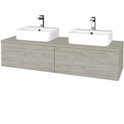 Dreja - Kúpeľňová skrinka MODULE SZZ12 140 - D05 Oregon / D05 Oregon (303082)