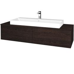 Dreja - Kúpeľňová skrinka MODULE SZZ12 140 - D08 Wenge / D08 Wenge (337650)