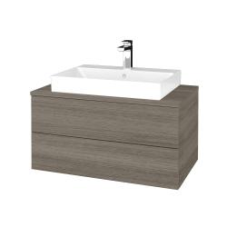 Dreja - Kúpeľňová skrinka MODULE SZZ2 80 - D03 Cafe / D03 Cafe (333645)