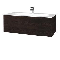 Dreja - Kúpeľňová skriňa VARIANTE SZZ 100 - D08 Wenge / D08 Wenge (269043)