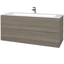 Dreja - Kúpeľňová skrinka VARIANTE SZZ2 120 - D03 Cafe / D03 Cafe (270414)
