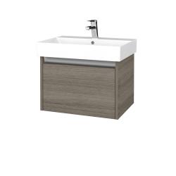 Dreja - Kúpeľňová skrinka BONO SZZ 60 - D03 Cafe / D03 Cafe (277383)