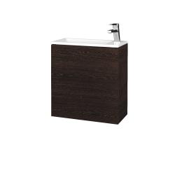 Dreja - Kúpeľňová skriňa VARIANTE SZD 50 - D08 Wenge / D08 Wenge / Levé (327750)