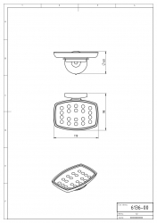 NOVASERVIS - Mydlenička sklo Metalia 1 chróm (6136,0), fotografie 6/3