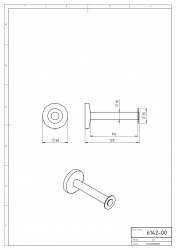 NOVASERVIS - Držiak toaletného papiera rovný Metalia 1 chróm (6142,0), fotografie 4/2