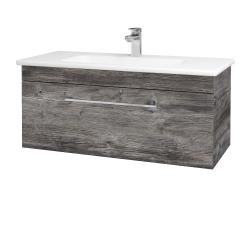 Dreja - Kúpeľňová skriňa ASTON SZZ 100 - D10 Borovice Jackson / Úchytka T04 / D10 Borovice Jackson (109288E)