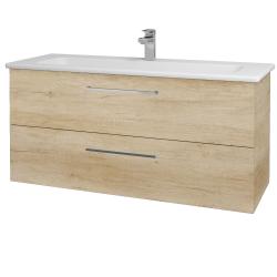 Dreja - Kúpeľňová skriňa GIO SZZ2 120 - D15 Nebraska / Úchytka T04 / D15 Nebraska (173784E)