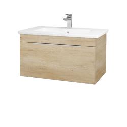 Dreja - Kúpeľňová skriňa ASTON SZZ 80 - D15 Nebraska / Úchytka T05 / D15 Nebraska (173944F)