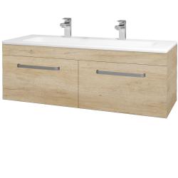 Dreja - Kúpeľňová skriňa ASTON SZZ2 120 - D15 Nebraska / Úchytka T01 / D15 Nebraska (174002AU)