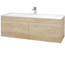 Dreja - Kúpeľňová skriňa ASTON SZZ2 120 - D15 Nebraska / Úchytka T04 / D15 Nebraska (174002E)