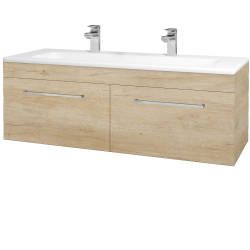 Dreja - Kúpeľňová skriňa ASTON SZZ2 120 - D15 Nebraska / Úchytka T04 / D15 Nebraska (174002EU)