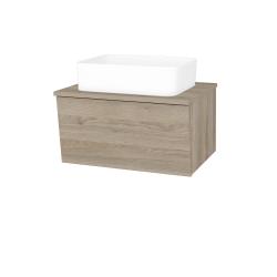 Dreja - Kúpeľňová skriňa INVENCE SZZ 65 (umývadlo Joy) - D17 Colorado / D17 Colorado (176761)