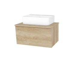 Dreja - Kúpeľňová skriňa INVENCE SZZ 65 (umývadlo Joy 3) - D15 Nebraska / D15 Nebraska (177904)