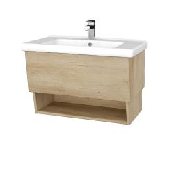 Dreja - Kúpeľňová skriňa INVENCE SZZO 80 (umývadlo Harmonia) - D15 Nebraska / D15 Nebraska (178680)