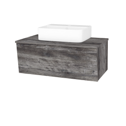 Dreja - Kúpeľňová skriňa INVENCE SZZ 80 (umývadlo Joy 3) - D10 Borovice Jackson / D10 Borovice Jackson (180942)