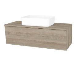 Dreja - Kúpeľňová skriňa INVENCE SZZ 100 (umývadlo Joy) - D17 Colorado / D17 Colorado (182144)