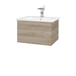 Dreja - Kúpeľňová skriňa VARIANTE SZZ 60 (umývadlo Euphoria) - D17 Colorado / D17 Colorado (188269)