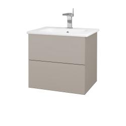 Dreja - Kúpeľňová skriňa VARIANTE SZZ2 60 (umývadlo Euphoria) - N07 Stone / N07 Stone (188634)