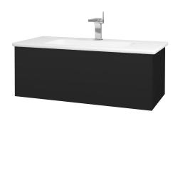 Dreja - Kúpeľňová skriňa VARIANTE SZZ 100 (umývadlo Euphoria) - N08 Cosmo / N08 Cosmo (190149)