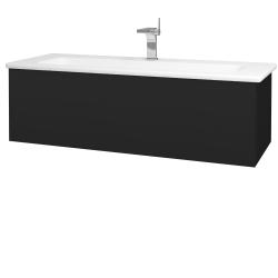 Dreja - Kúpeľňová skriňa VARIANTE SZZ 120 (umývadlo Euphoria) - N08 Cosmo / N08 Cosmo (190545)