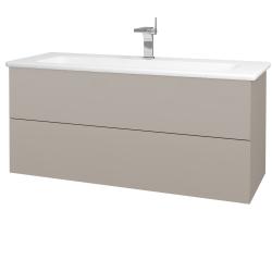 Dreja - Kúpeľňová skriňa VARIANTE SZZ2 120 (umývadlo Euphoria) - N07 Stone / N07 Stone (190736)