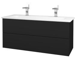 Dreja - Kúpeľňová skriňa VARIANTE SZZ2 120 (umývadlo Euphoria) - N08 Cosmo / N08 Cosmo (190743U)