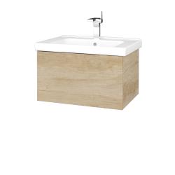 Dreja - Kúpeľňová skriňa VARIANTE SZZ 65 (umývadlo Harmonia) - D15 Nebraska / D15 Nebraska (190859)