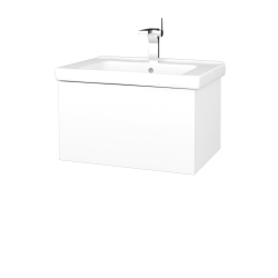 Dreja - Kúpeľňová skriňa VARIANTE SZZ 65 (umývadlo Harmonia) - M01 Bílá mat / M01 Bílá mat (190910)