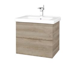 Dreja - Kúpeľňová skriňa VARIANTE SZZ2 65 (umývadlo Harmonia) - D17 Colorado / D17 Colorado (191320)