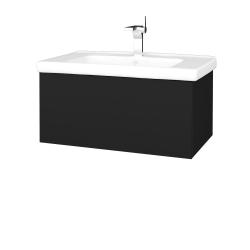 Dreja - Kúpeľňová skriňa VARIANTE SZZ 80 (umývadlo Harmonia) - N08 Cosmo / N08 Cosmo (192082)