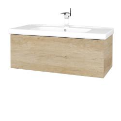 Dreja - Kúpeľňová skriňa VARIANTE SZZ 100 (umývadlo Harmonia) - D15 Nebraska / D15 Nebraska (192648)