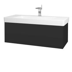 Dreja - Kúpeľňová skriňa VARIANTE SZZ 105 - N03 Graphite / N03 Graphite (195724)