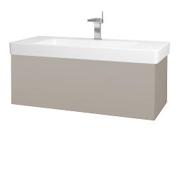 Dreja - Kúpeľňová skriňa VARIANTE SZZ 105 - N07 Stone / N07 Stone (195748)