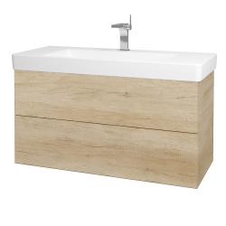 Dreja - Kúpeľňová skriňa VARIANTE SZZ2 105 - D15 Nebraska / D15 Nebraska (195779)
