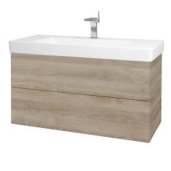 Dreja - Kúpeľňová skriňa VARIANTE SZZ2 105 - D17 Colorado / D17 Colorado (195793)