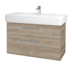 Dreja - Kúpeľňová skriňa Q MAX SZZ2 100 - D17 Colorado / Úchytka T01 / D17 Colorado (198763A)
