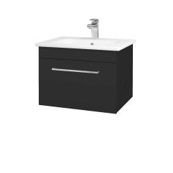 Dreja - Kúpeľňová skriňa ASTON SZZ 60 - N03 Graphite / Úchytka T04 / N03 Graphite (199258E)