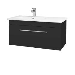 Dreja - Kúpeľňová skriňa ASTON SZZ 90 - N03 Graphite / Úchytka T04 / N03 Graphite (199869E)