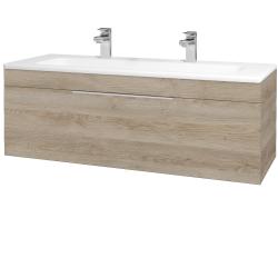 Dreja - Kúpeľňová skriňa ASTON SZZ 120 - D17 Colorado / Úchytka T05 / D17 Colorado (200077FU)