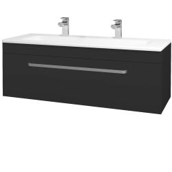 Dreja - Kúpeľňová skriňa ASTON SZZ 120 - N03 Graphite / Úchytka T01 / N03 Graphite (200183AU)
