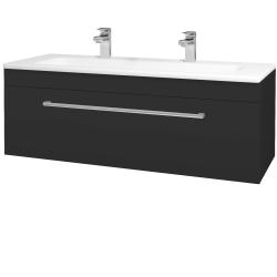 Dreja - Kúpeľňová skriňa ASTON SZZ 120 - N03 Graphite / Úchytka T03 / N03 Graphite (200183CU)