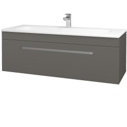 Dreja - Kúpeľňová skriňa ASTON SZZ 120 - N06 Lava / Úchytka T01 / N06 Lava (200190A)
