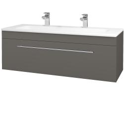 Dreja - Kúpeľňová skriňa ASTON SZZ 120 - N06 Lava / Úchytka T02 / N06 Lava (200190BU)