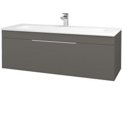 Dreja - Kúpeľňová skriňa ASTON SZZ 120 - N06 Lava / Úchytka T05 / N06 Lava (200190F)