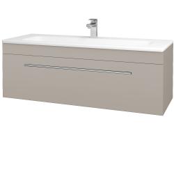 Dreja - Kúpeľňová skriňa ASTON SZZ 120 - N07 Stone / Úchytka T02 / N07 Stone (200206B)