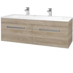 Dreja - Kúpeľňová skriňa ASTON SZZ2 120 - D17 Colorado / Úchytka T01 / D17 Colorado (200237AU)