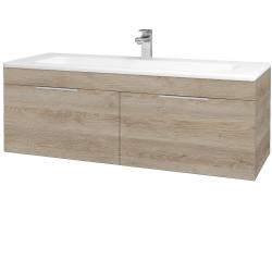 Dreja - Kúpeľňová skriňa ASTON SZZ2 120 - D17 Colorado / Úchytka T05 / D17 Colorado (200237F)
